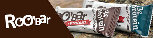 Roo'Bar with new protein bars
